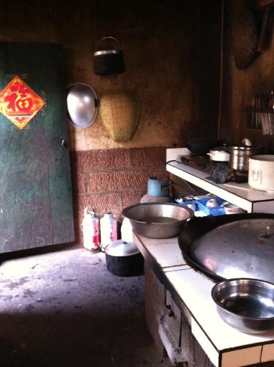 Where the magic happens-- the kitchen!