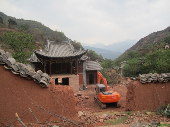 Lots of construction at the bottom of the hill. Will Nuodeng be the same if I go back in a few years??