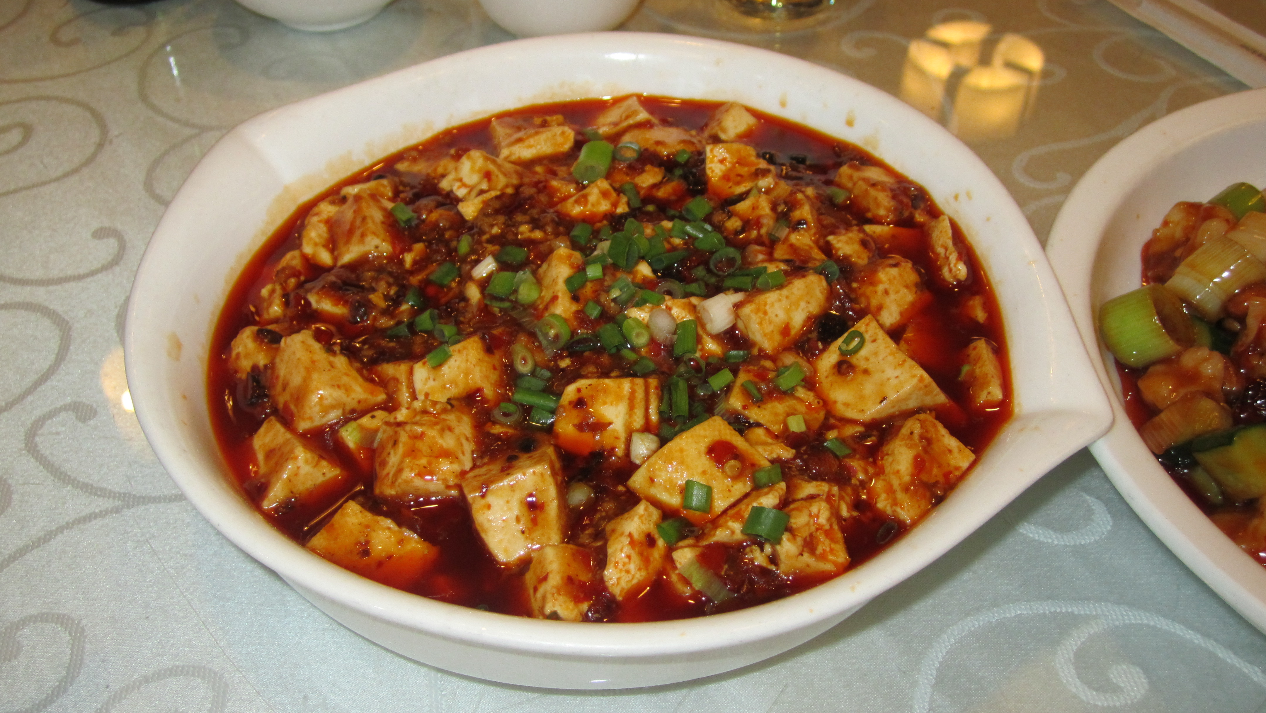 Ma Po Tofu (麻婆豆腐)– Classic chinese dish that is spicy ...